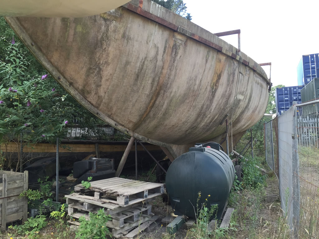 Boat Salvage - We Scrap and Recycle Boat Moulds